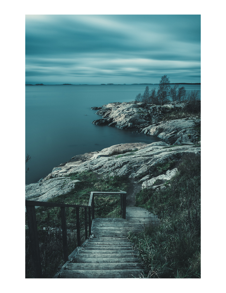 Suomenlinna Steps by andrew audley