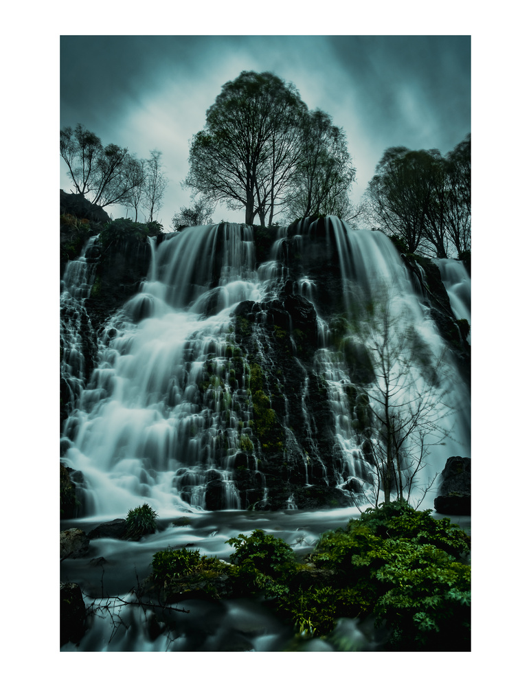 Shaki Waterfall, Armenia by andrew audley