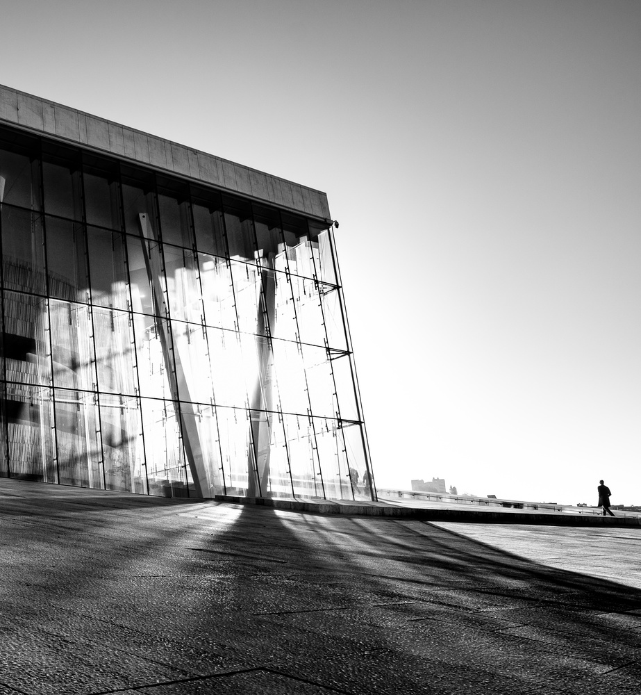Oslo Opera House by andrew audley