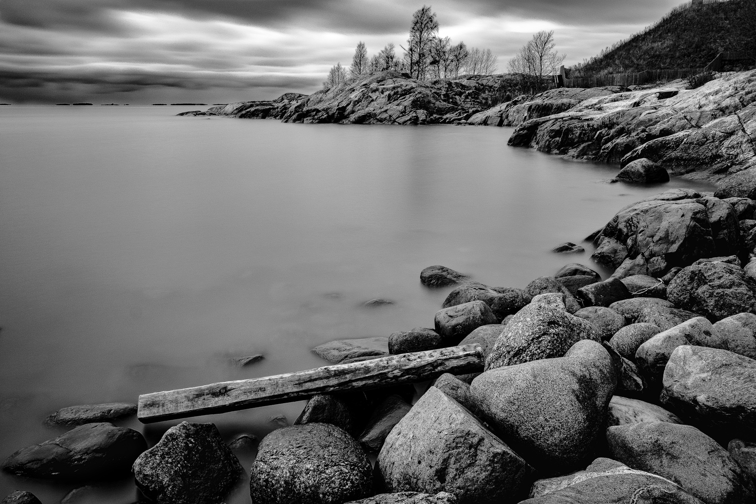 Suomenlinna coast by andrew audley