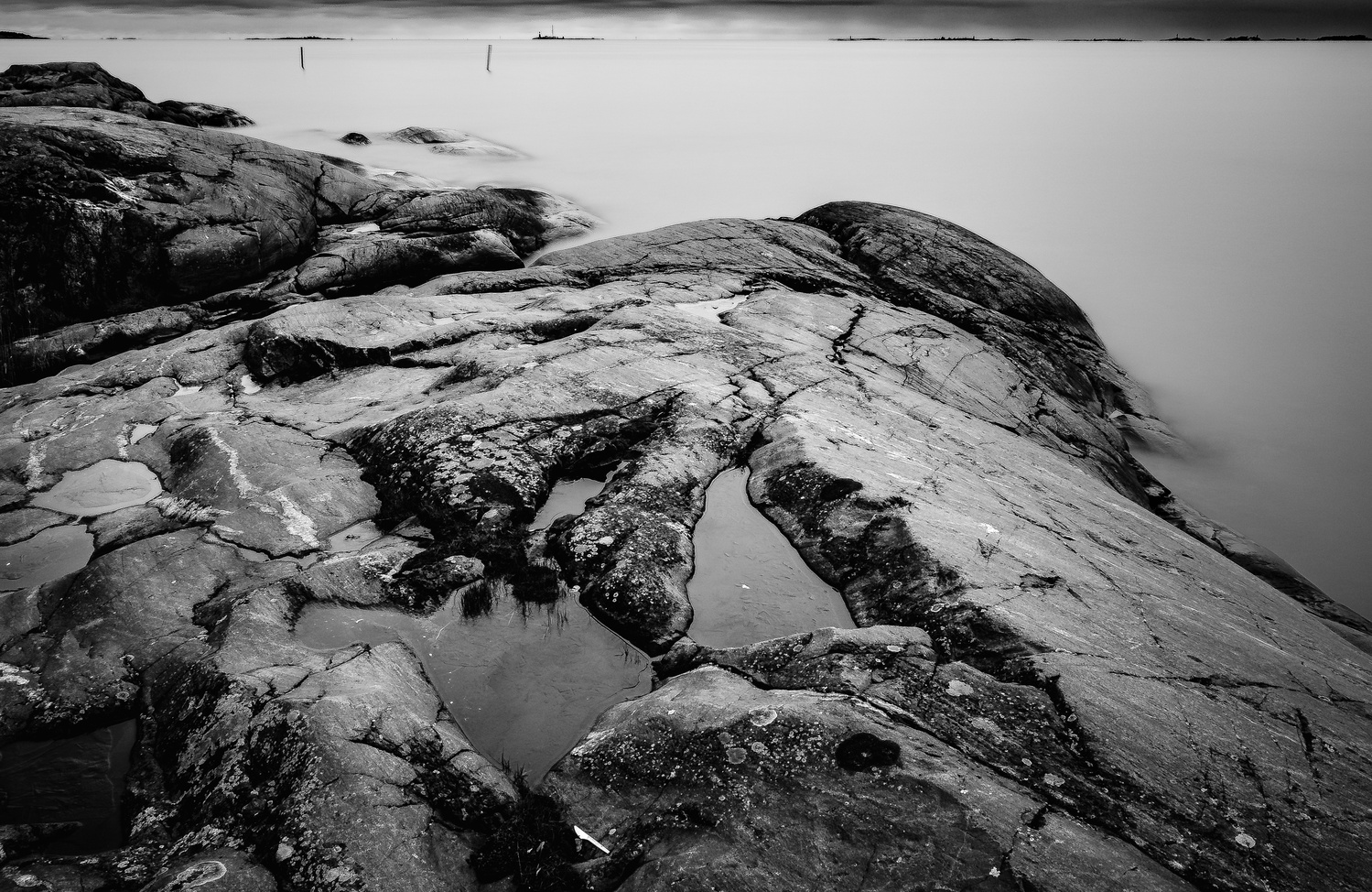 Baltic Coast BW by andrew audley