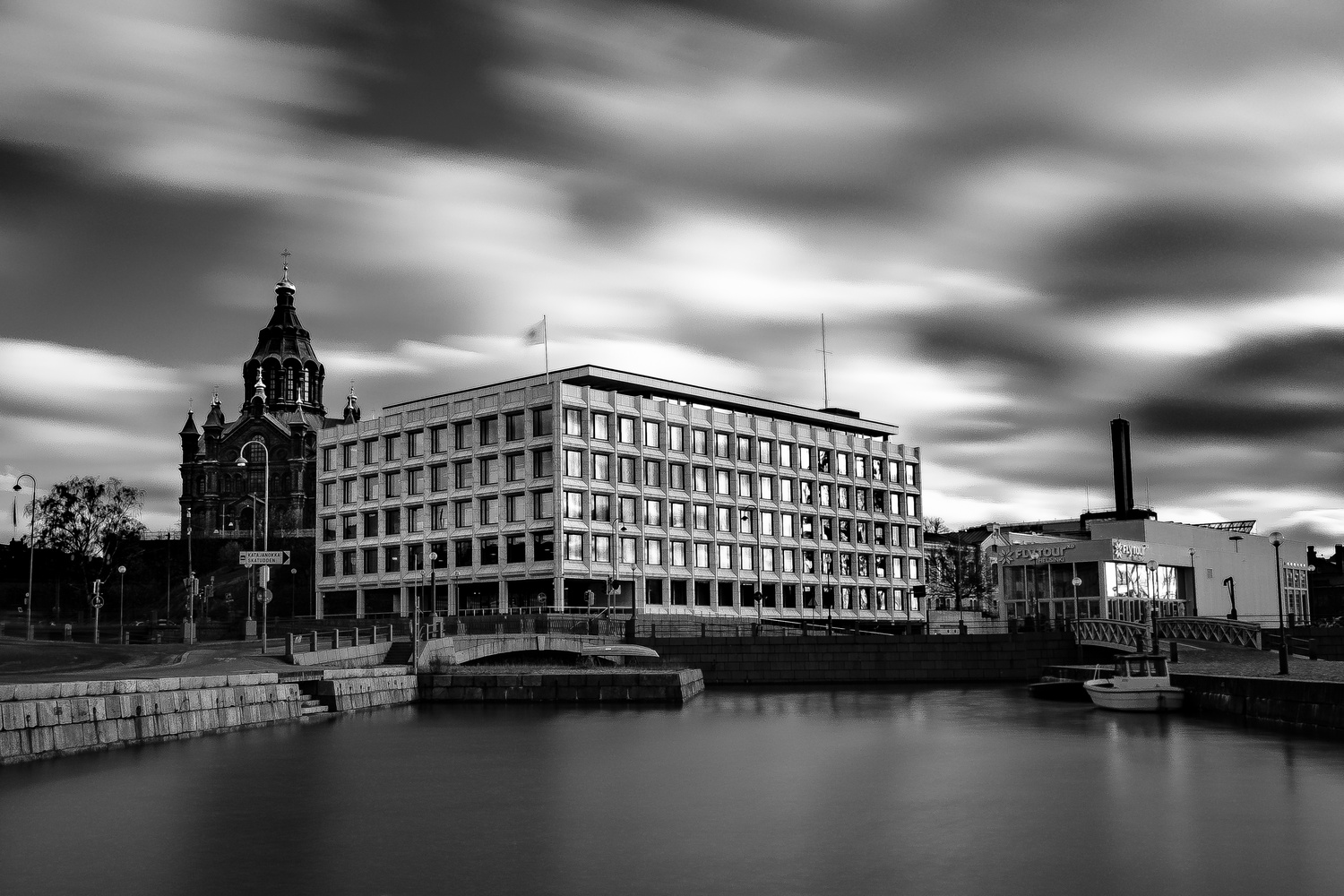 Helsinki Long Exposure by andrew audley