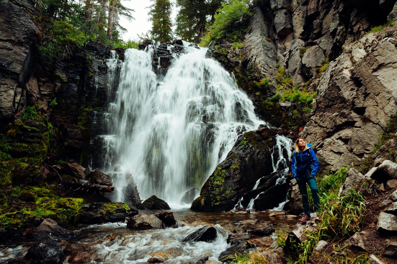 Kings Creek Falls - Lassen Volcanic National Park by Florian Mauduit