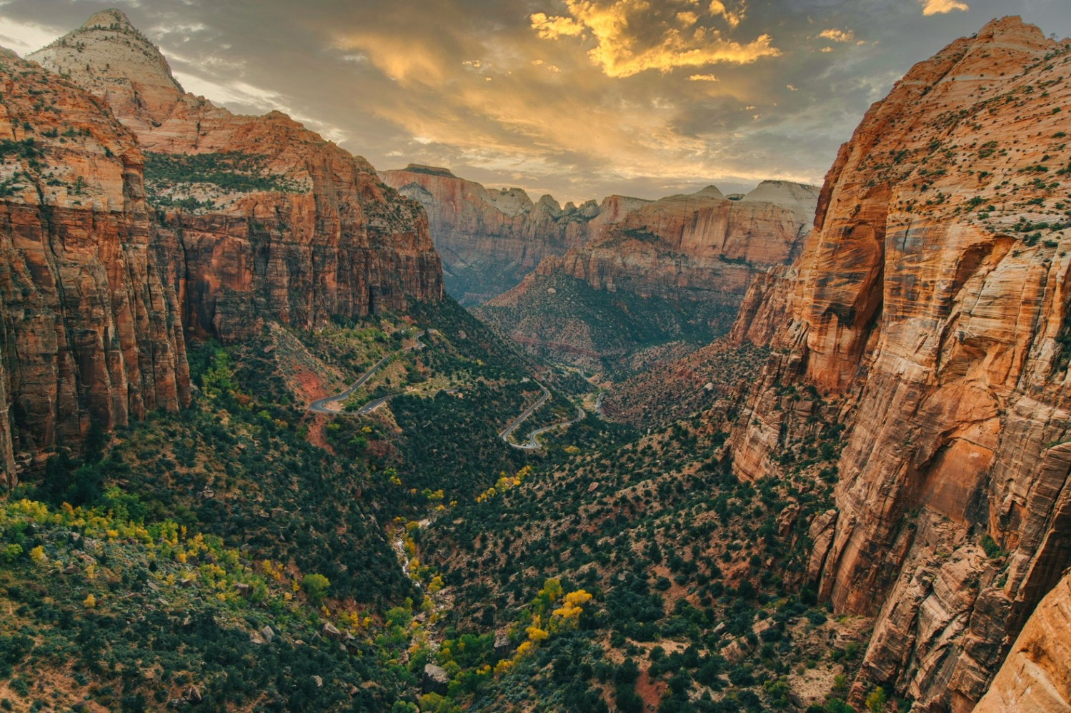 Observation Point in Zion National Park by Florian Mauduit