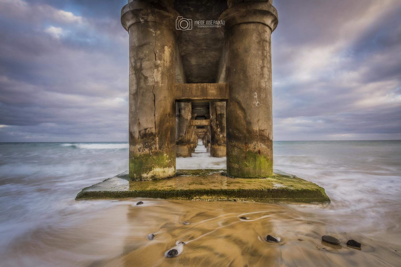 The pier by Neide Paixão