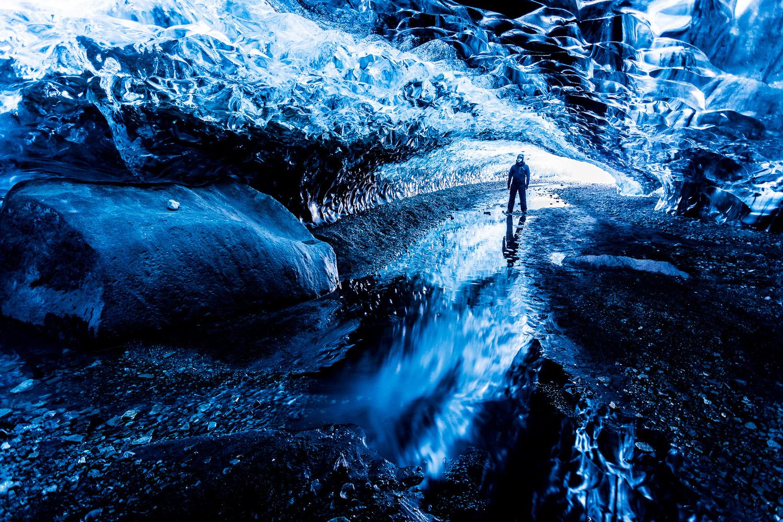 Blue Ice by Jeroen Van Nieuwenhove