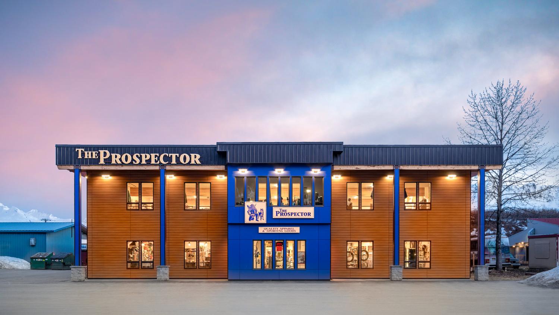 Prospector Building by Logan Cressler