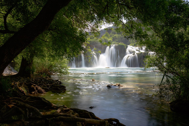 Krka Falls by Alec Herrera
