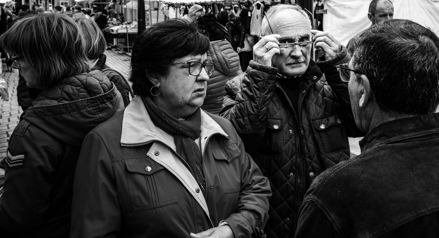 Faces in the crowd 2  by Sam Ponsford