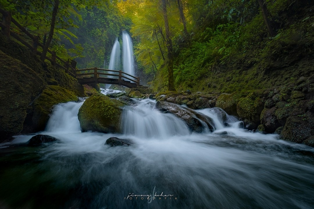 Jumog Waterfall by Jimmy Kohar