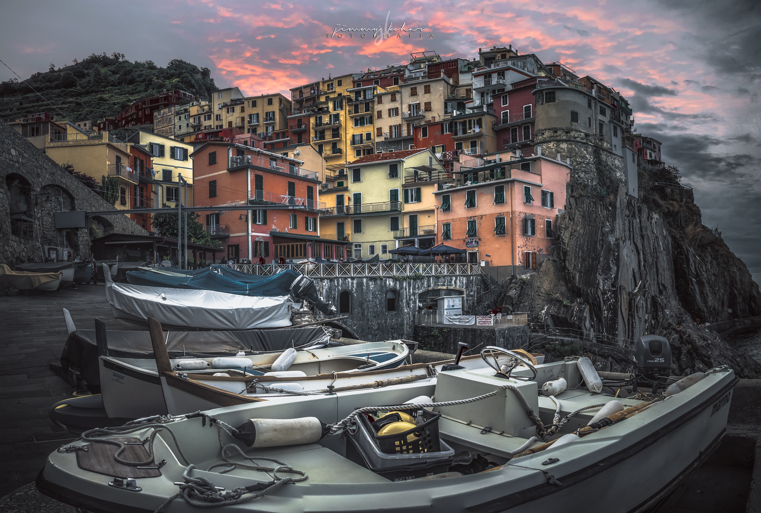 The Fishing Village by Jimmy Kohar