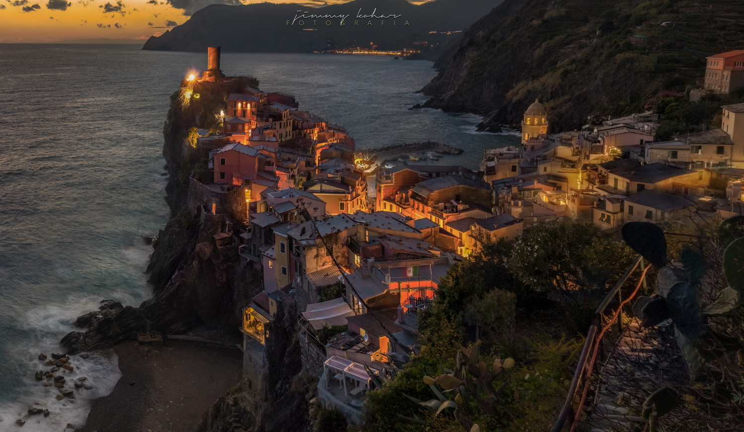 Dusky Vernazza by Jimmy Kohar
