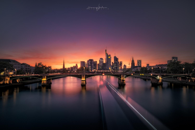 Frankfurt Cityscape by Jimmy Kohar