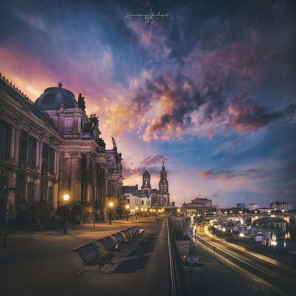 The Terrace of Europe by Jimmy Kohar