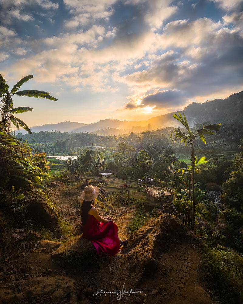 Sunset in Citambur by Jimmy Kohar