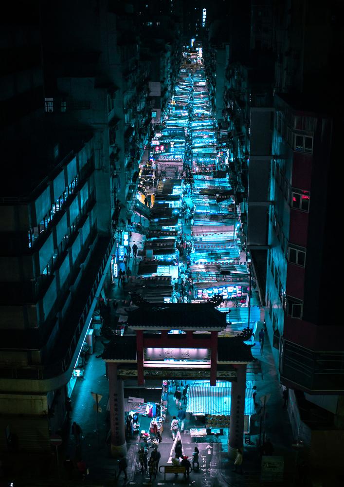 Night Market by Steve Roe