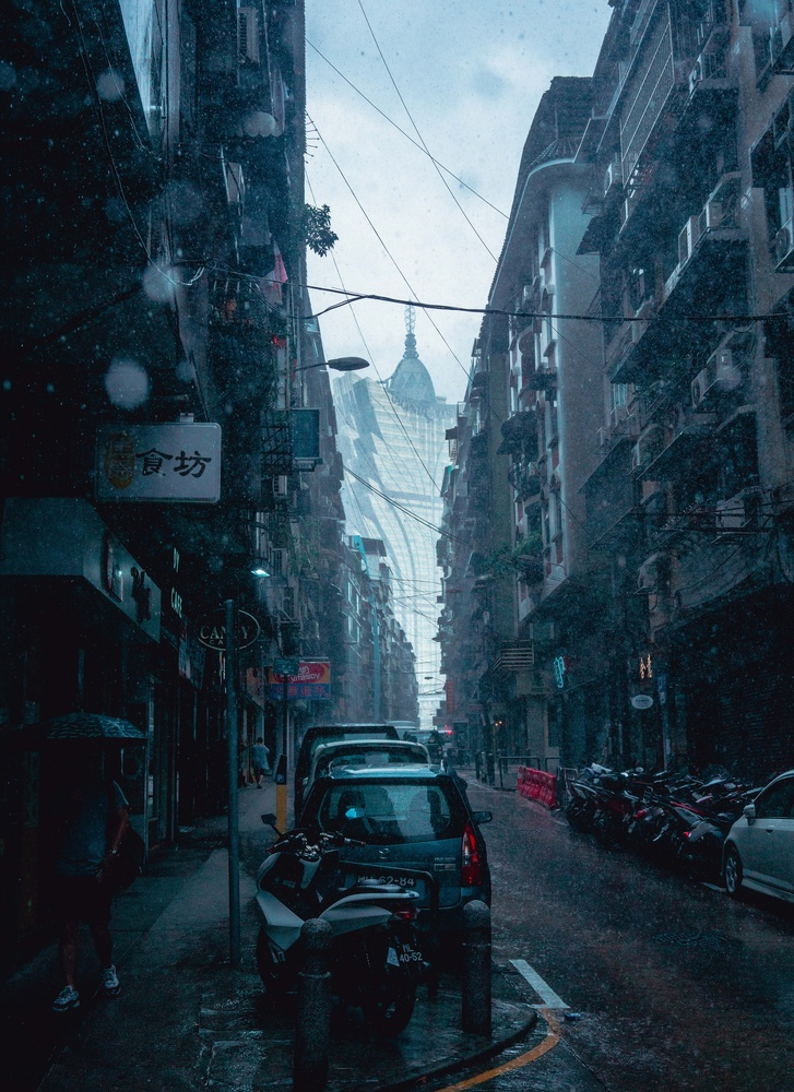 Heavy Rain by Steve Roe
