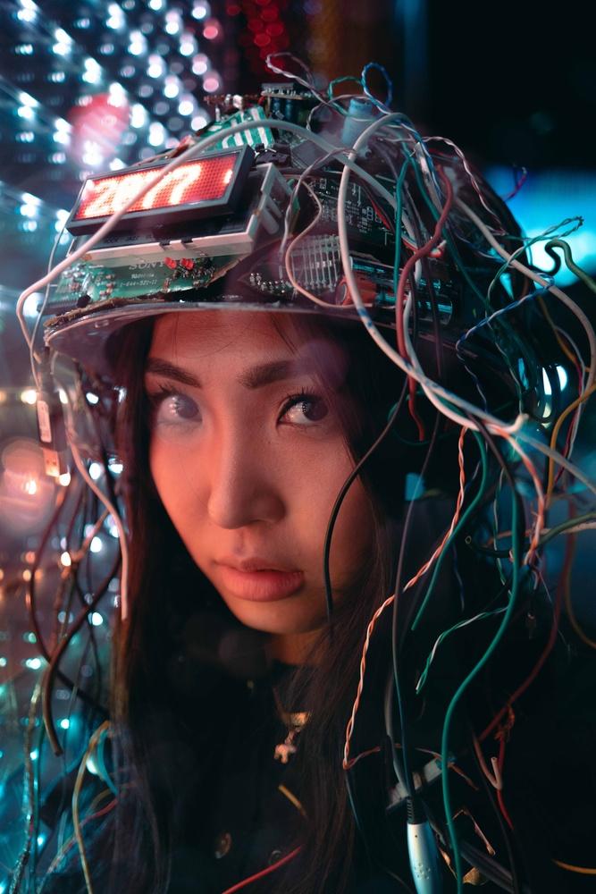 Cyberpunk Seoul 2077 by Steve Roe