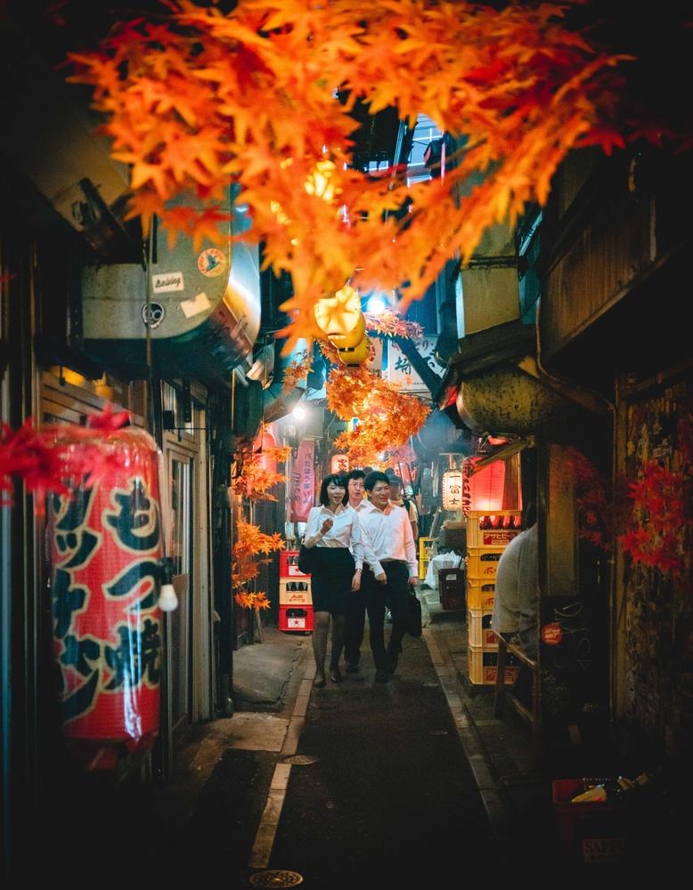 Dreamy Tokyo by Steve Roe