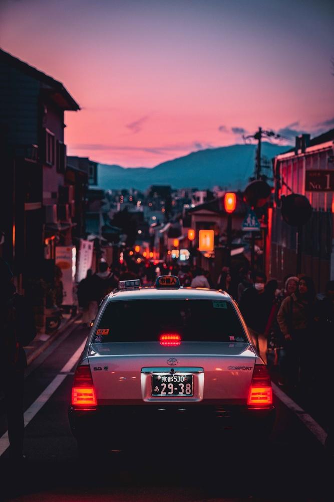 Kyoto Sunset by Steve Roe