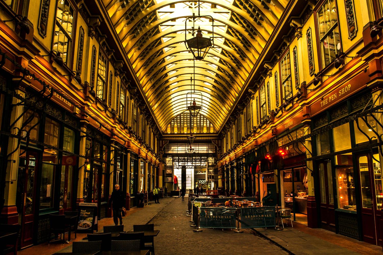 Leadenhall Market #1 by Tom Juggins