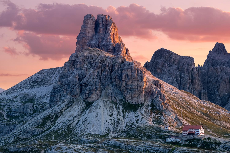 Rifugio Locatelli by Nicholas Vaiarini