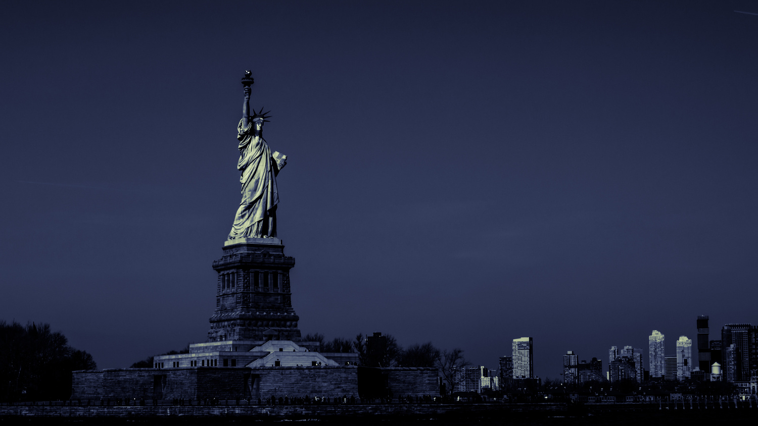 Liberty in B&W by Naveed Nur