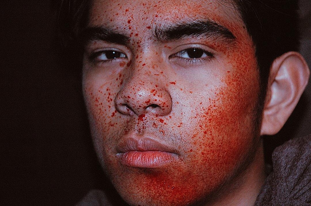 Blood Splatter by Jasmin Rose