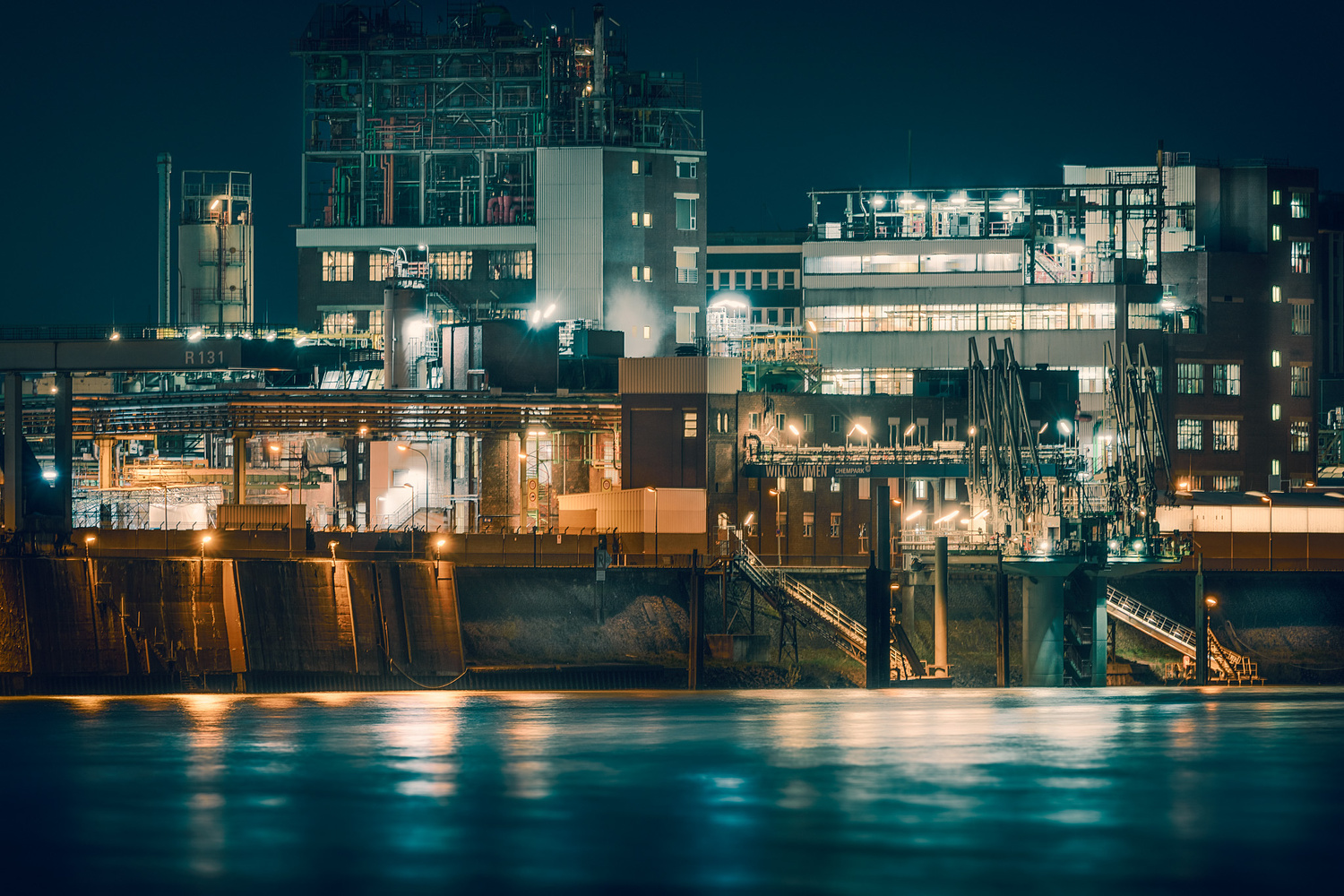 Industrial Night by Axel Jusseit