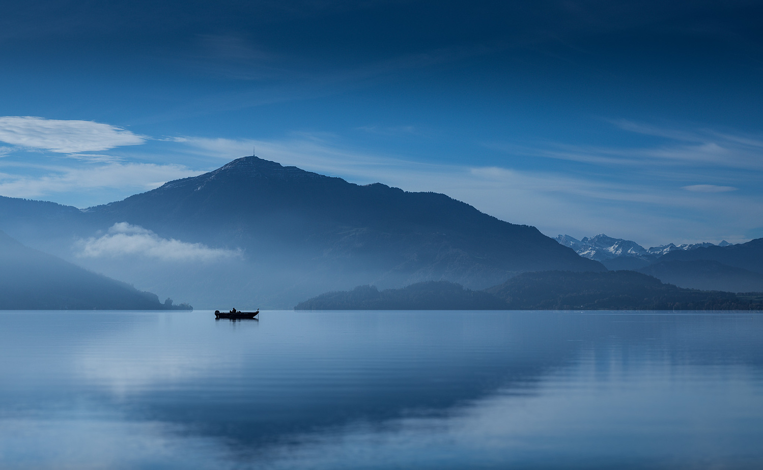 The lonely angler by Axel Jusseit