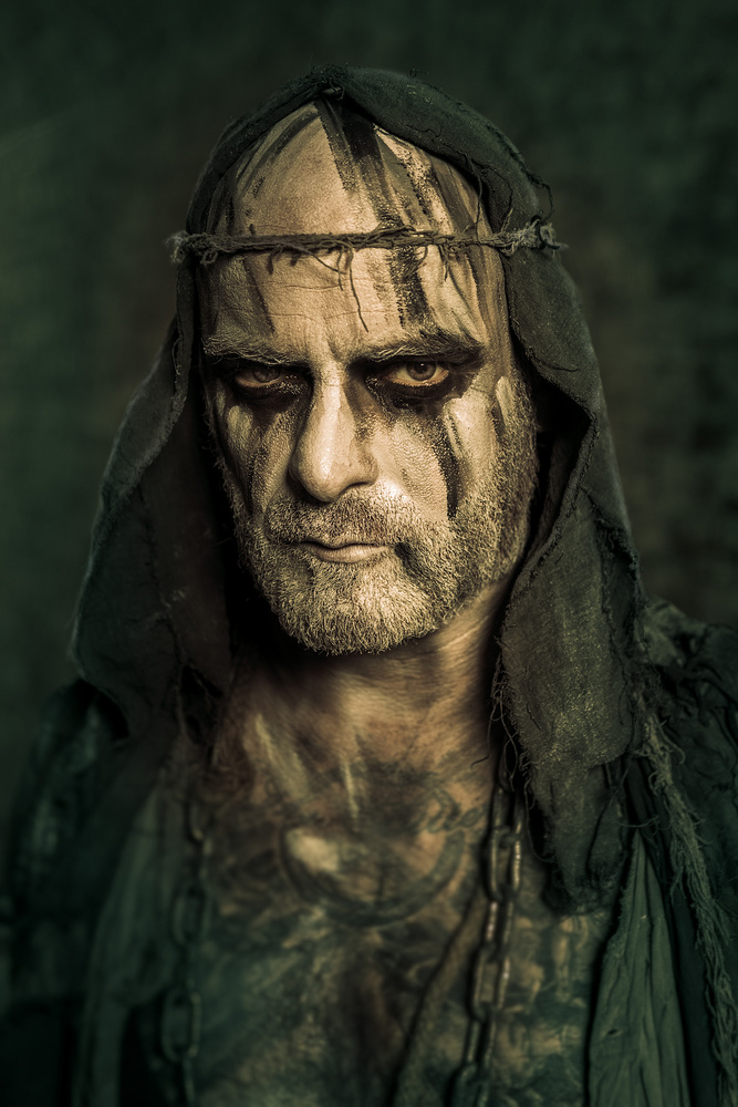 "Alan ""Naihmass Nemtheanga"" Averill / Primordial by Axel Jusseit"