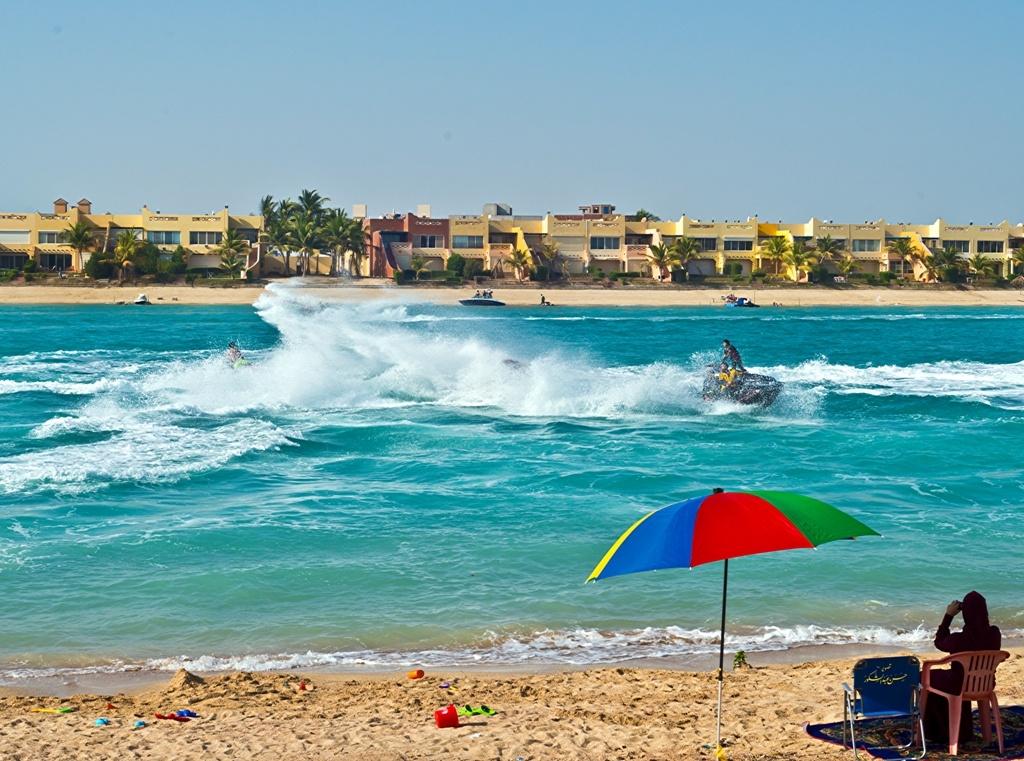 On the beach, Jeddah KSA by Hasan Abdulshakour