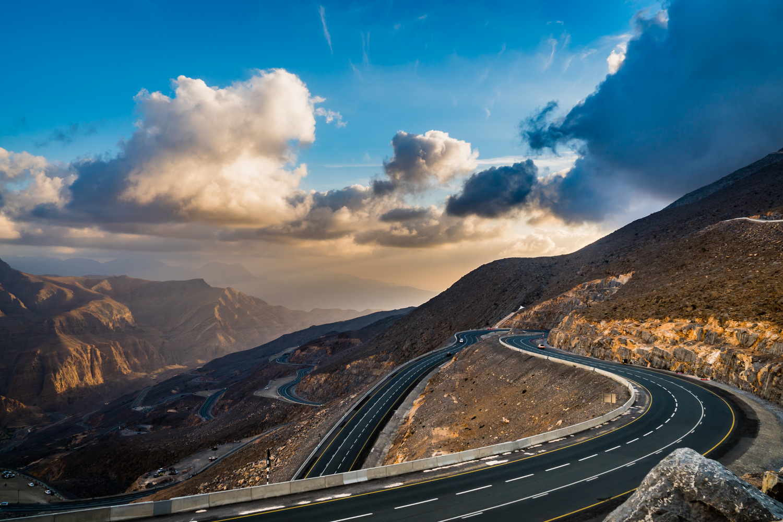 MOUNTAIN ROAD by yasir bin yousuf