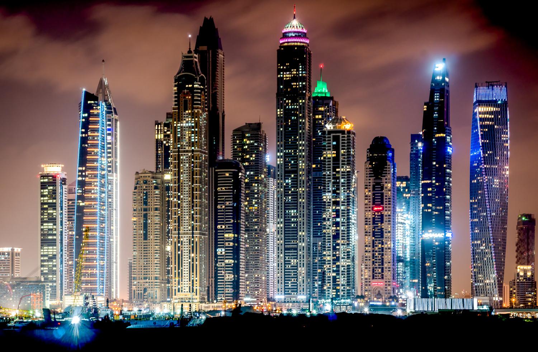 DUBAI SKYLINE by yasir bin yousuf