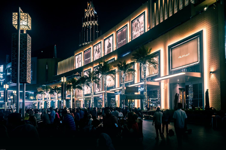 Dubai Mall at night by yasir bin yousuf