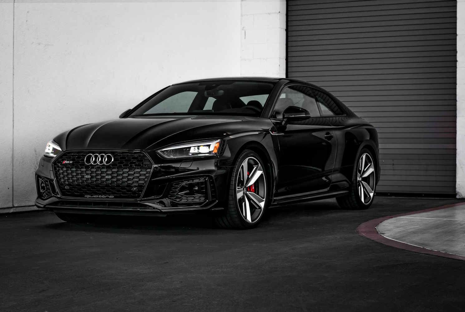 Black RS5 Coupe by Travis Pinney