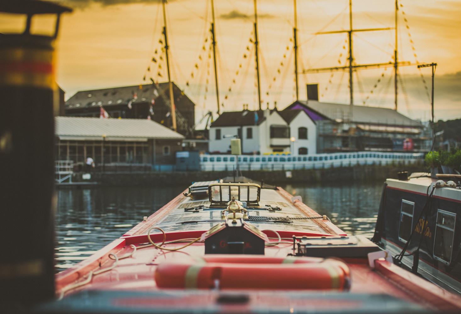 Sunset in Bristol by Britton Murrey