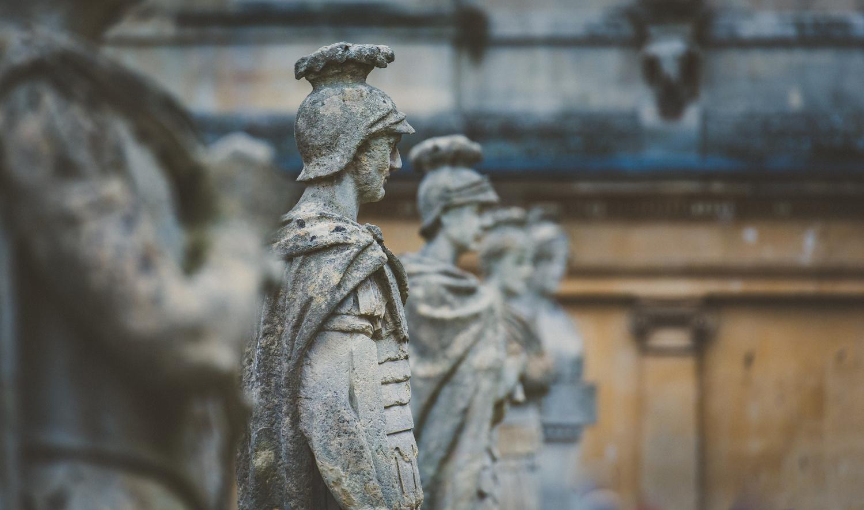The Roman Baths by Britton Murrey