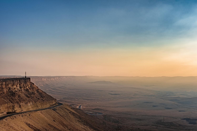 Ramon crater - Israel by Nir Roitman