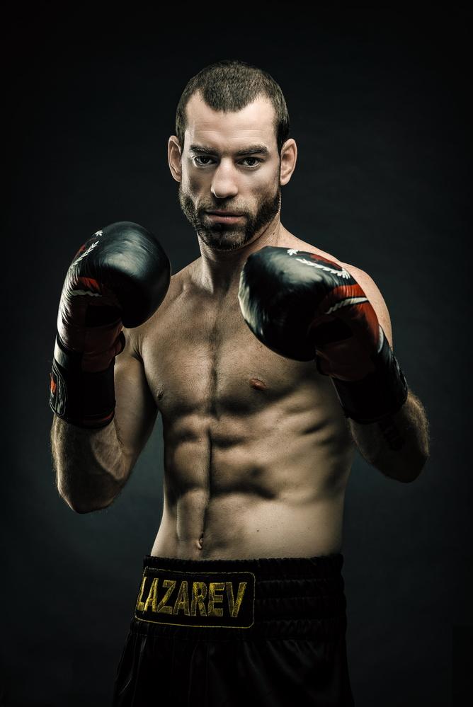 Pro boxer by Nir Roitman