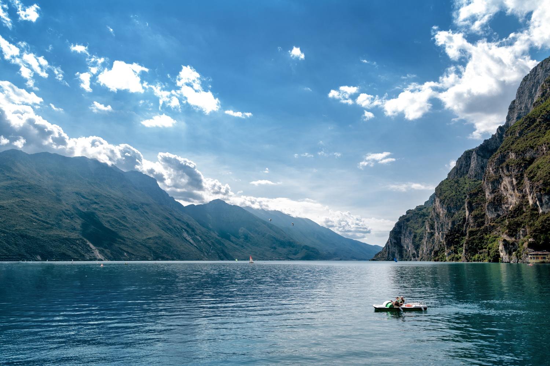Garda lake, Italy by Nir Roitman