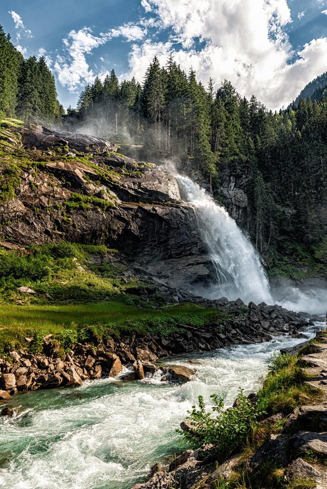 Krimml waterfall, Austria by Nir Roitman