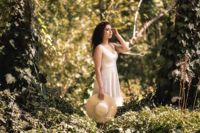 Lady in the wild by Nir Roitman