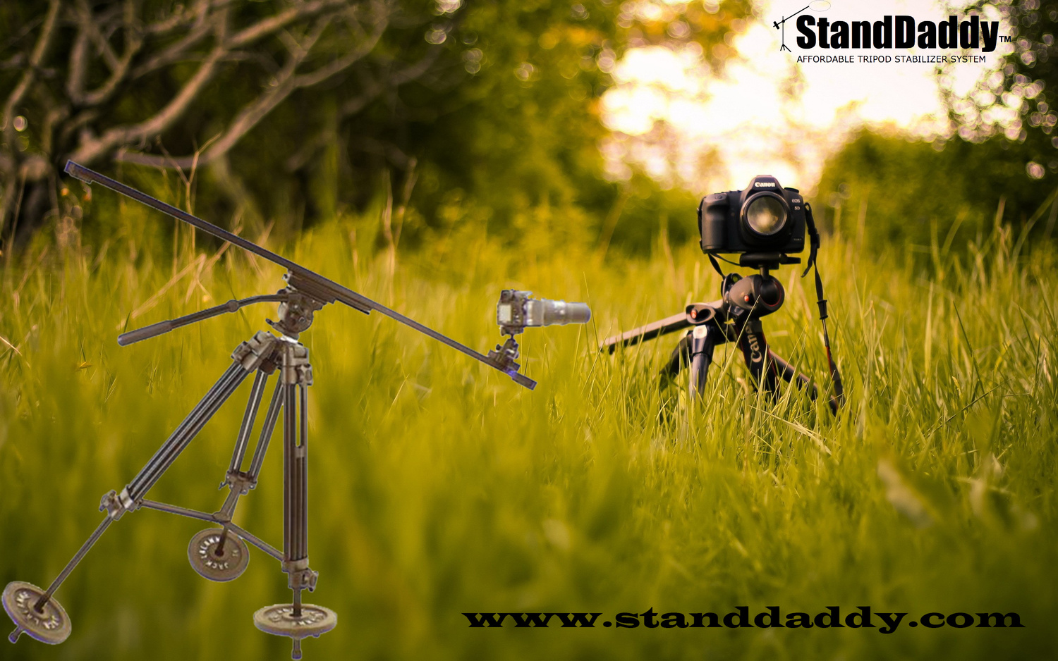 StandDaddy Tripod Stabilizing System by Pat Green