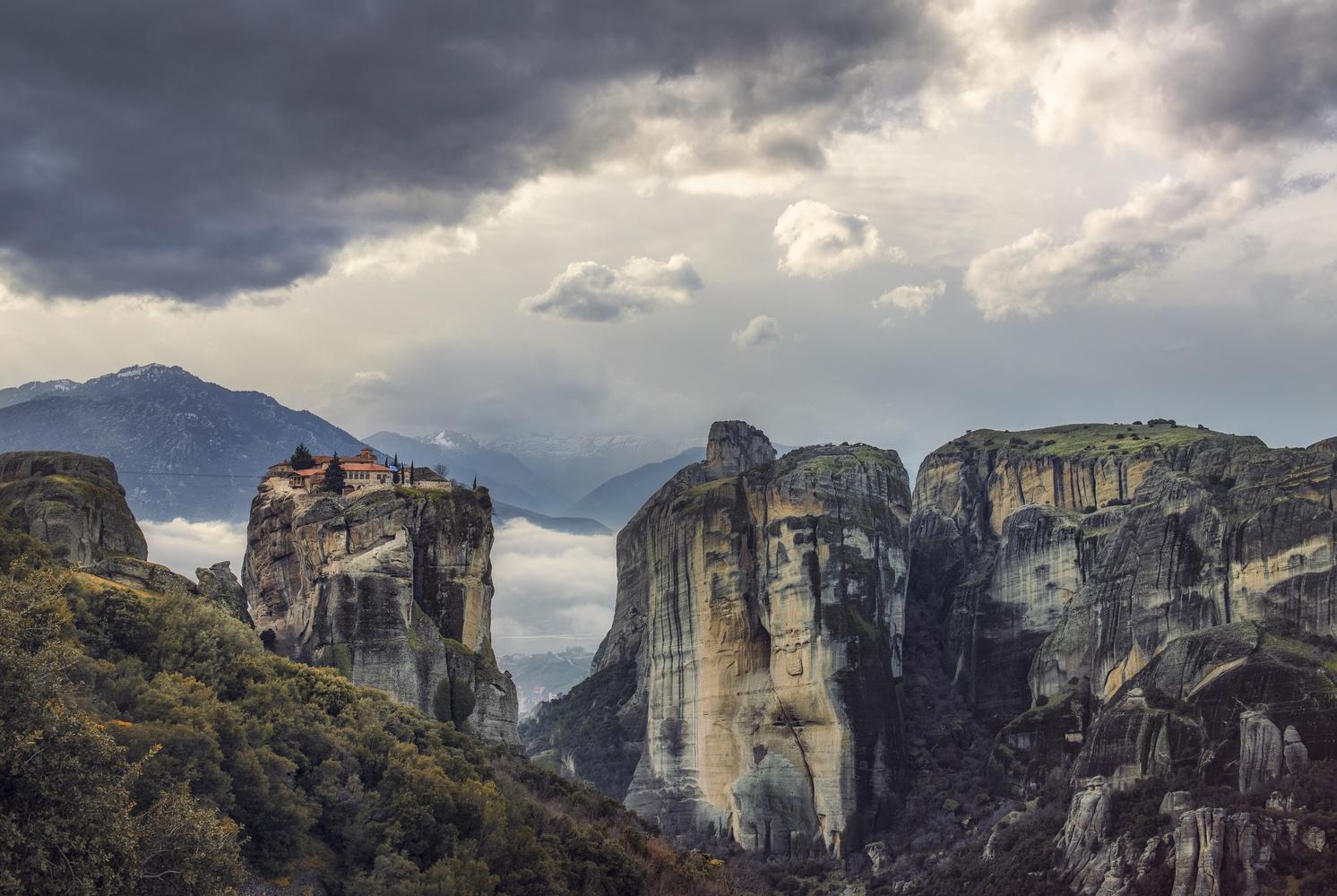 monastery, Meteora by stathis floros