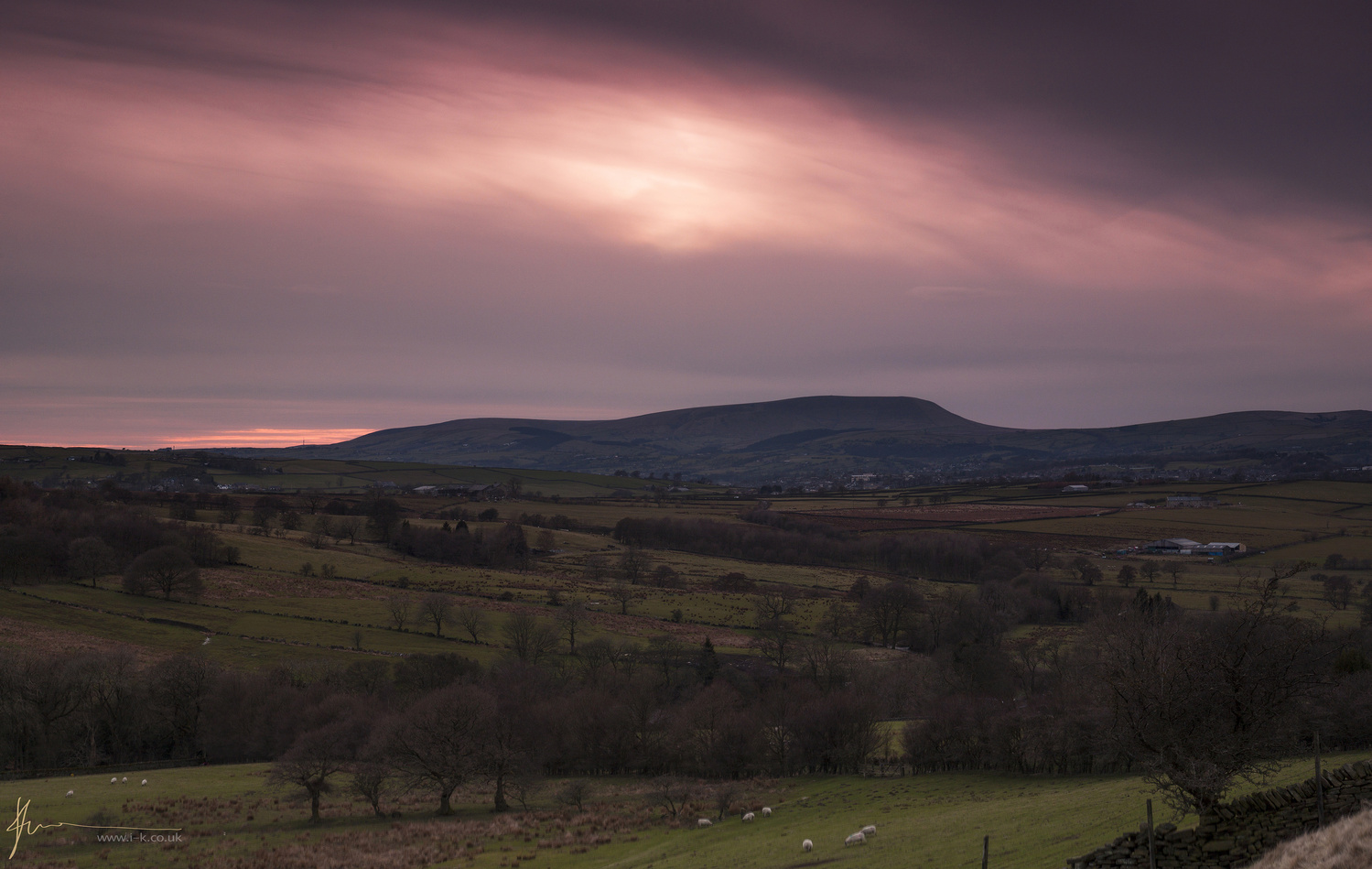 Sunset over Yorkshire by Imran Khan