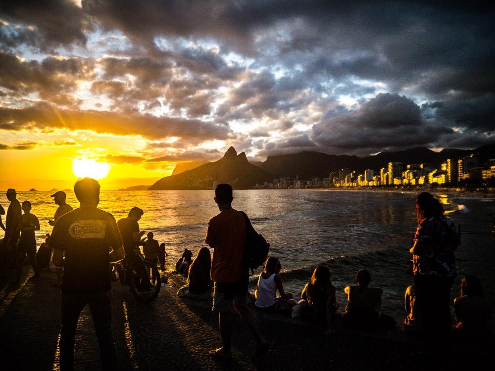 Arpoador's Sunset by Marcio K