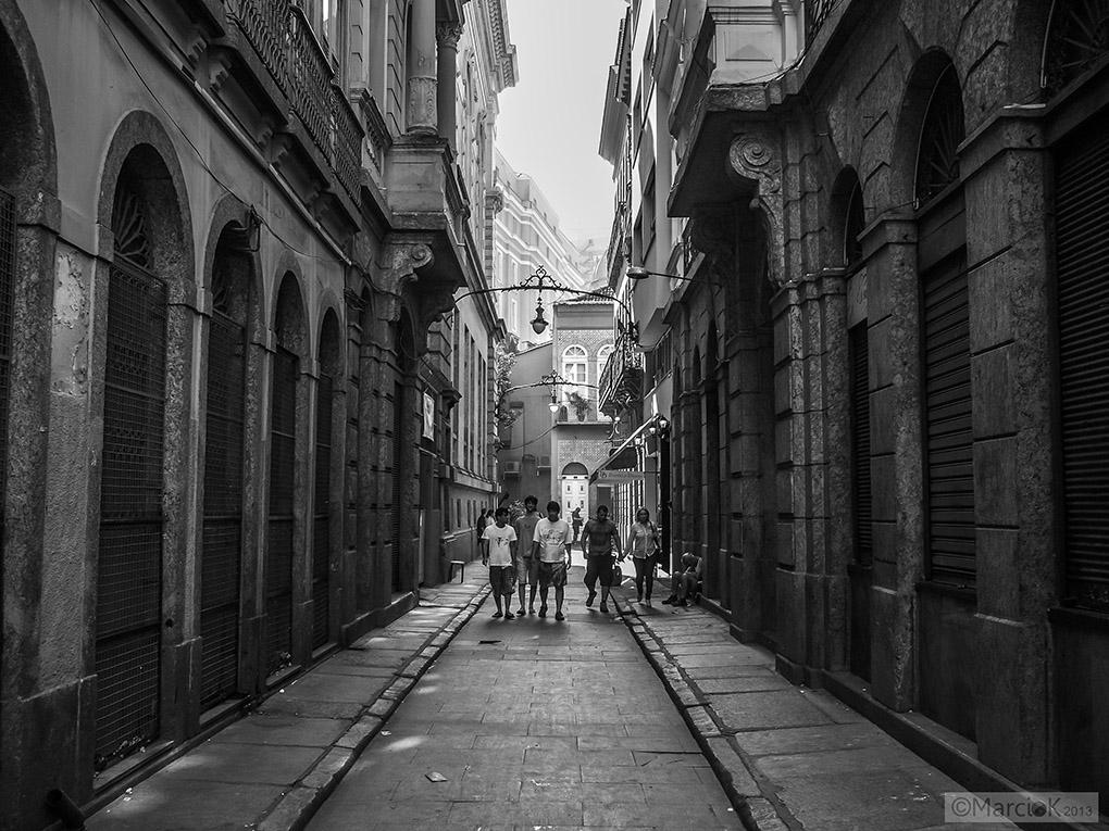 Rio's street by Marcio K