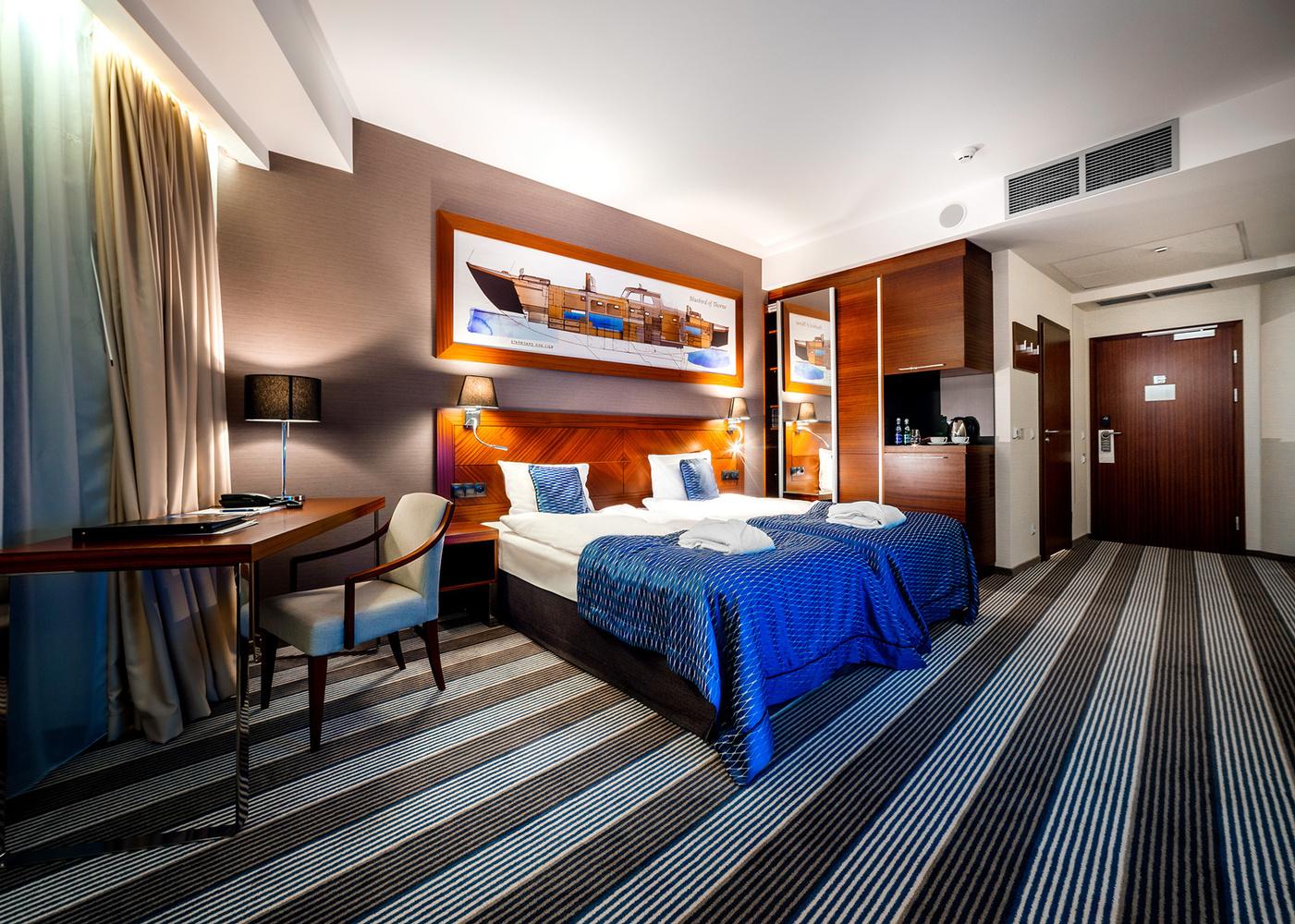 Hotel interior by Tom Piaf