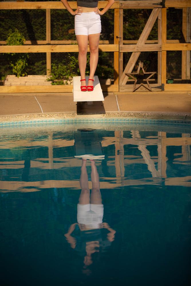 Pool Side Retro by David Wardrick